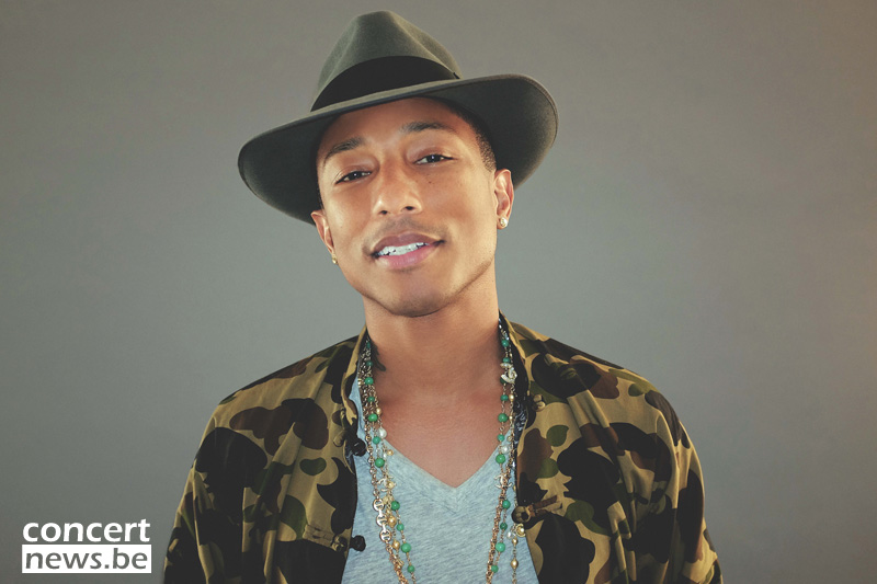 Foto's: Pharrell Williams